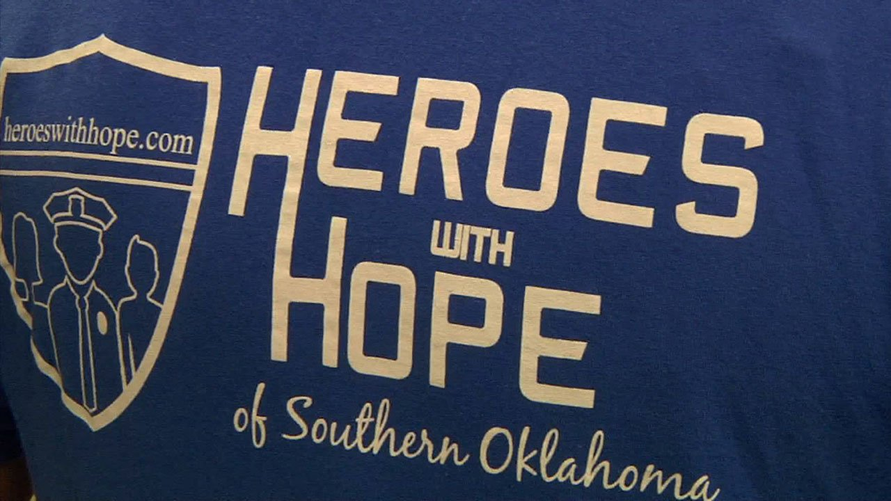 Heroes with Hope provides necessities for Ardmore children. (KTEN)