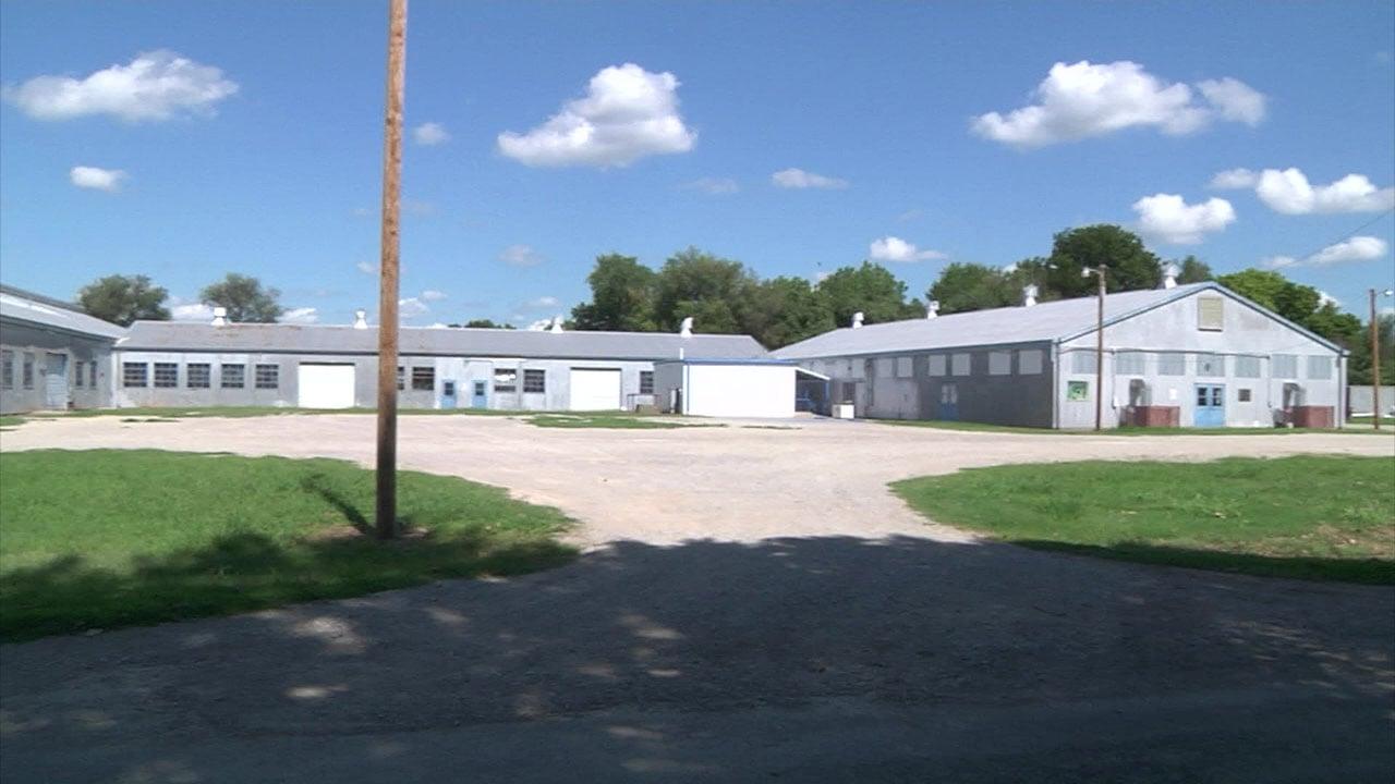 The Garvin County Fairgrounds (KTEN)