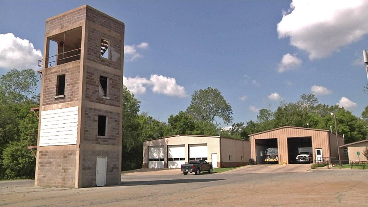 Upgrades are planned for Denison's Morton Street fire station. (KTEN)