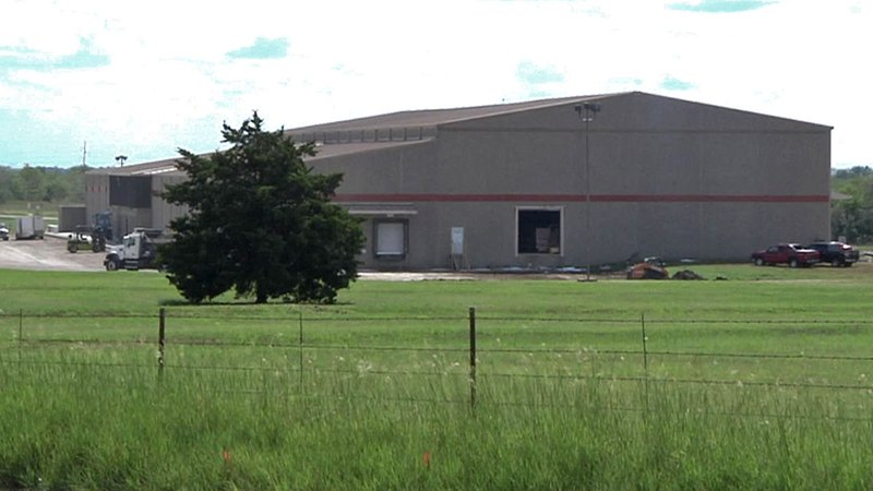 Stryve Biltong's new plant is at 1006 East Main Street in Madill. (KTEN)