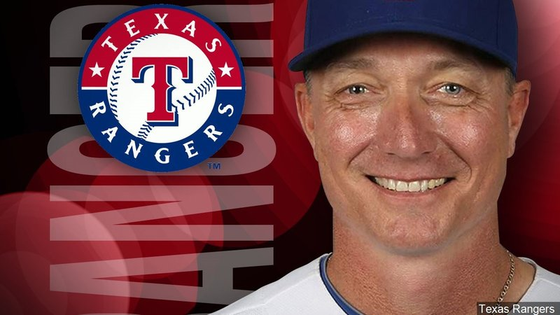 The Texas Rangers have fired manager Jeff Banister. (Texas Rangers photo)