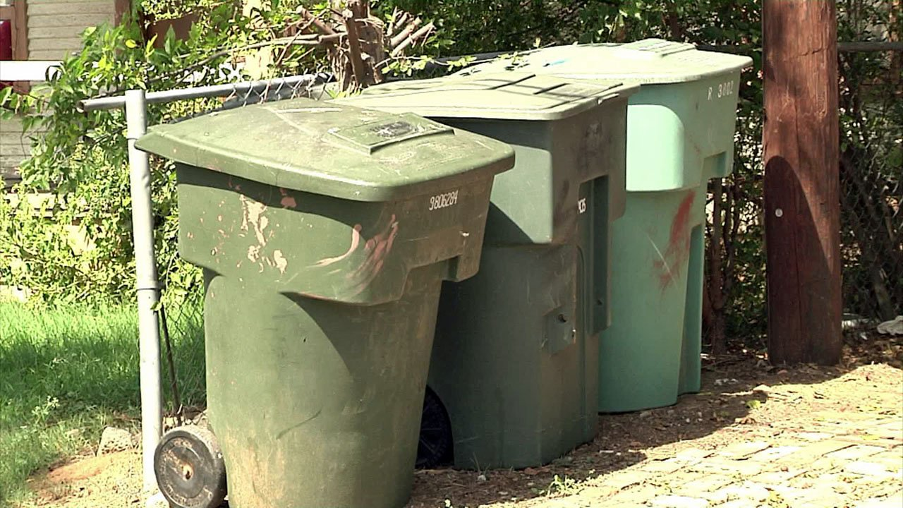 Sherman's recycling program is losing money. (KTEN)