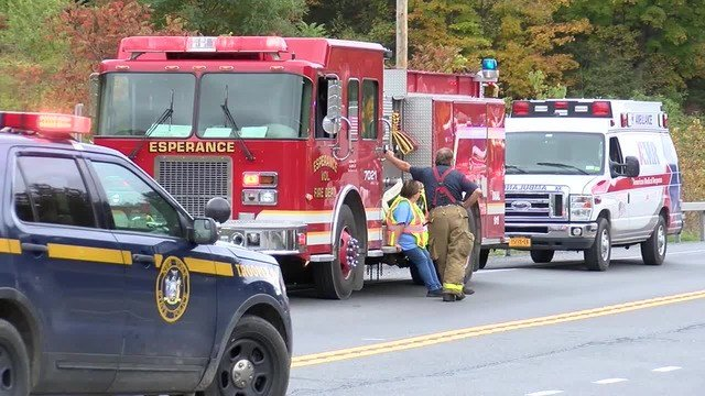 State and federal authorities are investigating the cause of a crash that killed 20 people in Upstate New York on October 6, 2018. (CNN)
