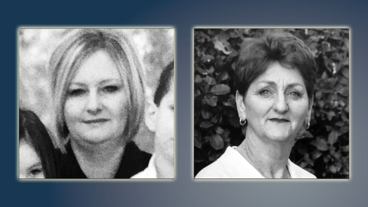 Vivian Pierce (left) and her mother Rebecca Pierce were murdered in Calera in 2009. (File/KTEN)