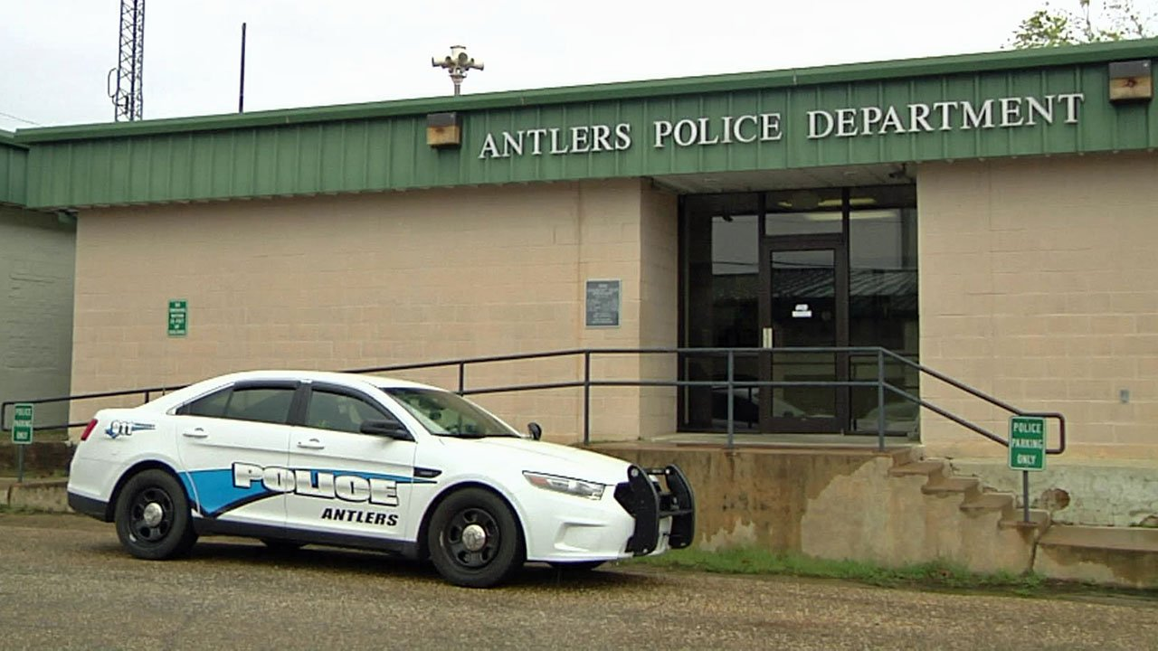 The Antlers Police Department. (KTEN)