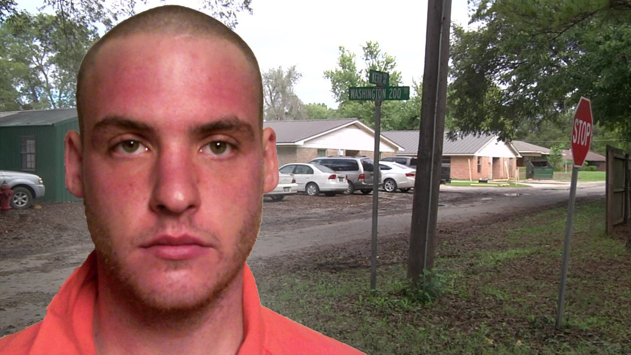 Missouri murder suspect Brian Medley was traced to a residence in Pauls Valley, Oklahoma. (KTEN)
