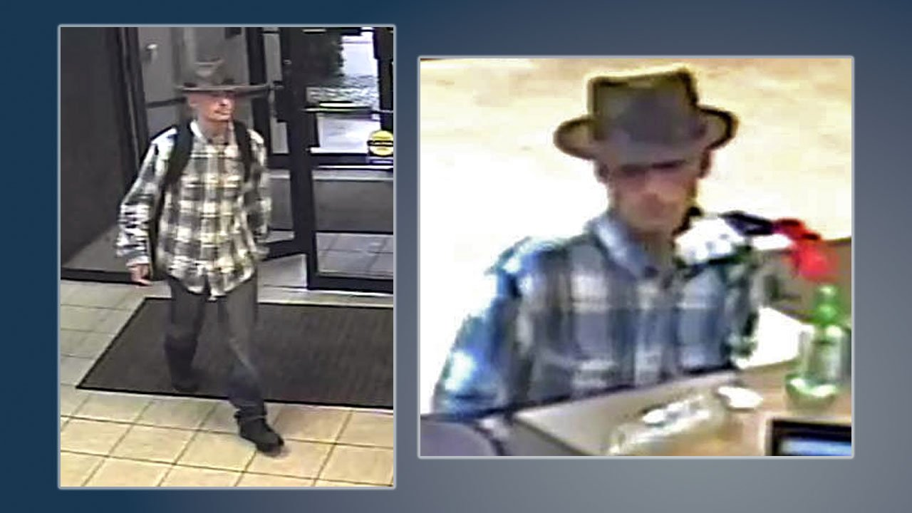 Kingston police said this man wanted in connection with the October 13, 2018 holdup of Texas Star Bank in Sherman was arrested on Saturday.  (Sherman PD)
