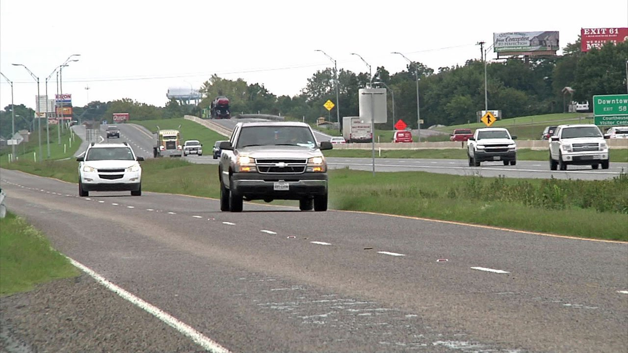 A four-mile stretch of U.S. 75 in Sherman will be upgraded. (KTEN)