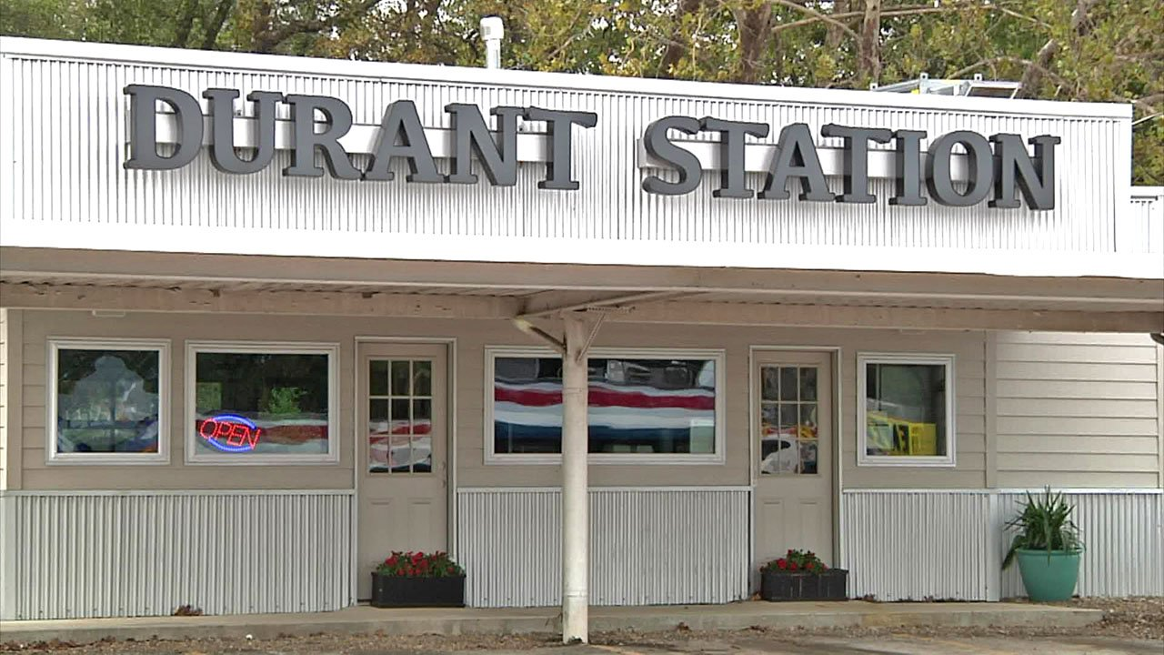 Durant Station is a new Ardmore restaurant in the former location of George's Drive-In.