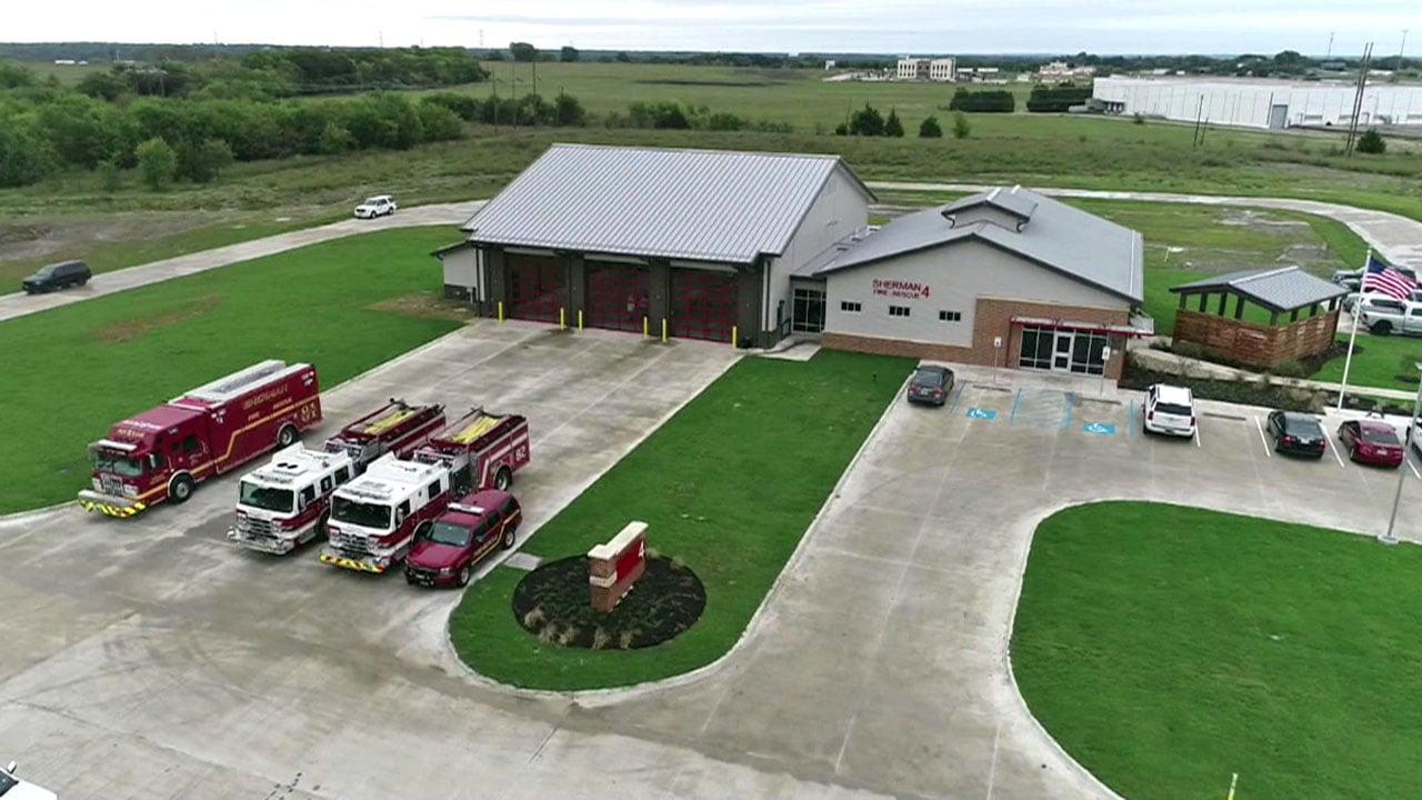 Sherman's new Fire Station No. 4. (KTEN)