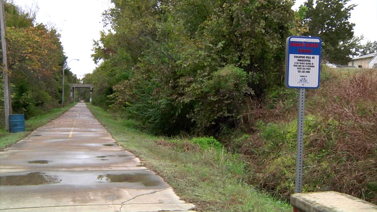 Ada is working to reduce crime along the city's hike and bike trail. (KTEN)