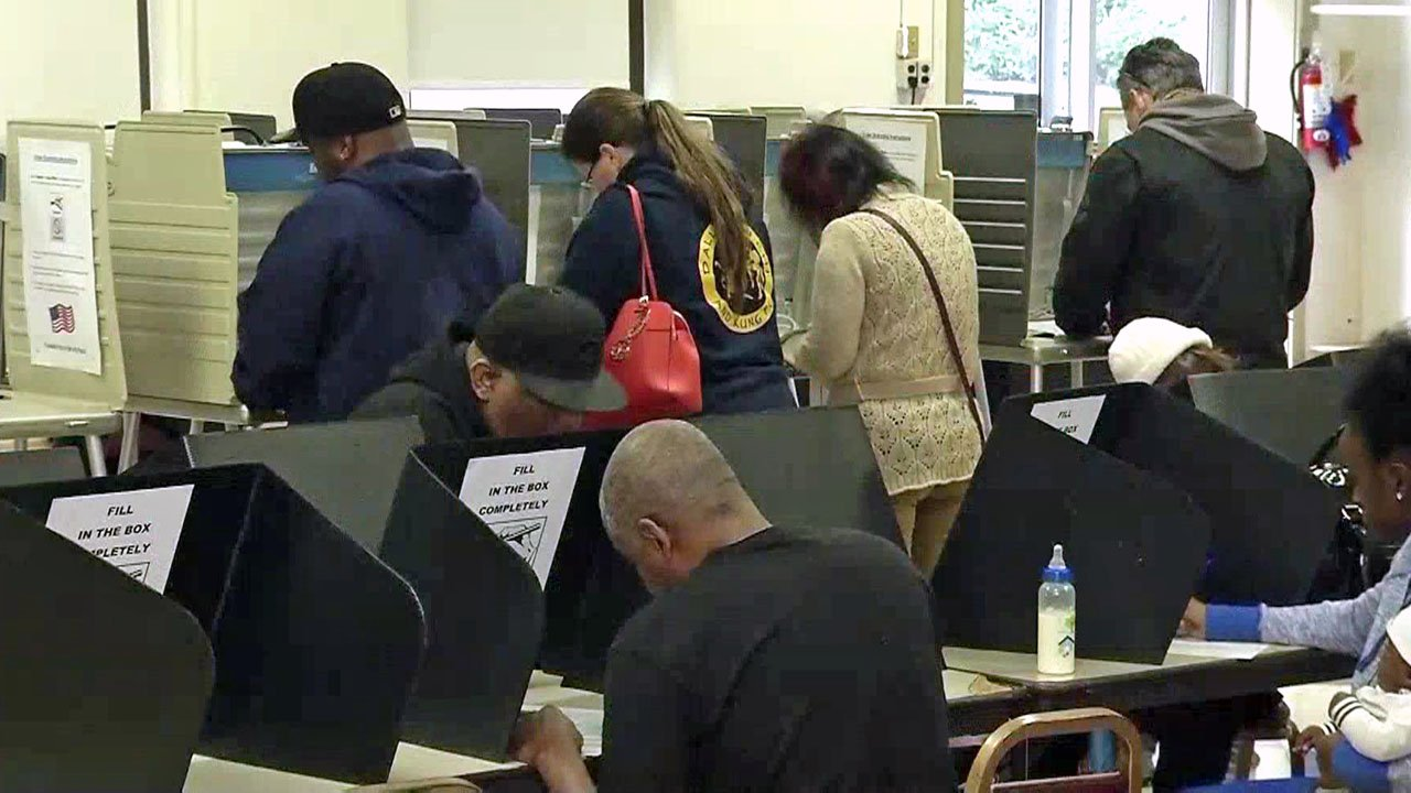 Grayson County officials expect a heavy turnout on Election Day 2018. (File/KTEN)