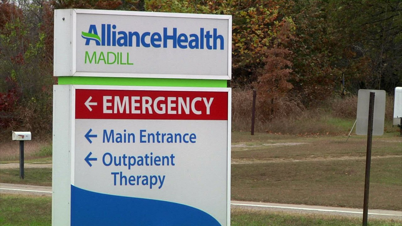 AllianceHealth Madill Hospital benefits from a one-cent sales tax for Marshall County residents. (KTEN)