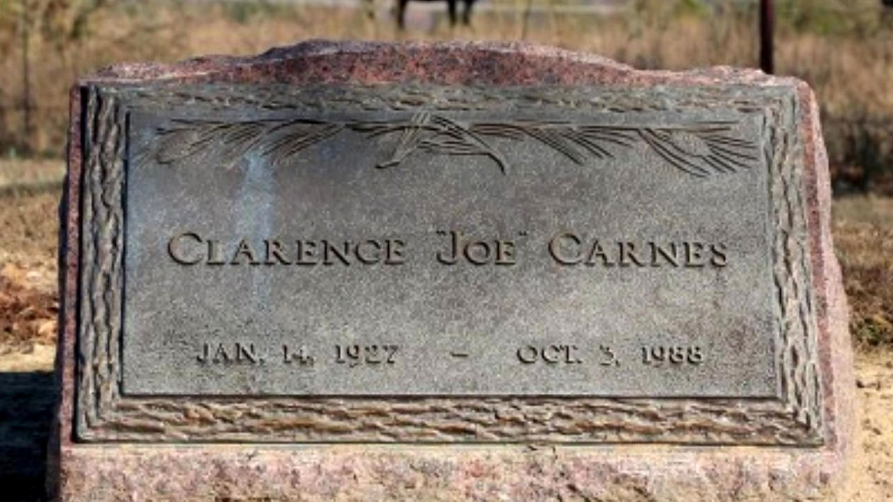 "The Atoka County funeral of Clarence Carnes was paid for by fellow Alcatraz inmate James ""Whitey"" Bulger. (Courtesy)"