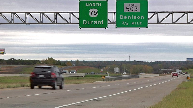 Plans are being made to change the alignment at the intersection of U.S. 75 and Spur 503 in Denison. (KTEN)
