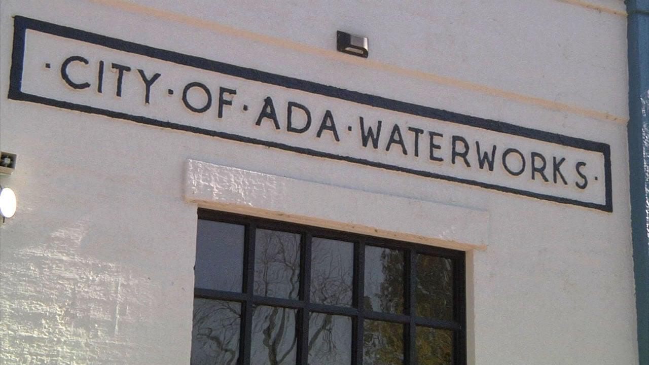 Ada's water processing plant. (KTEN)