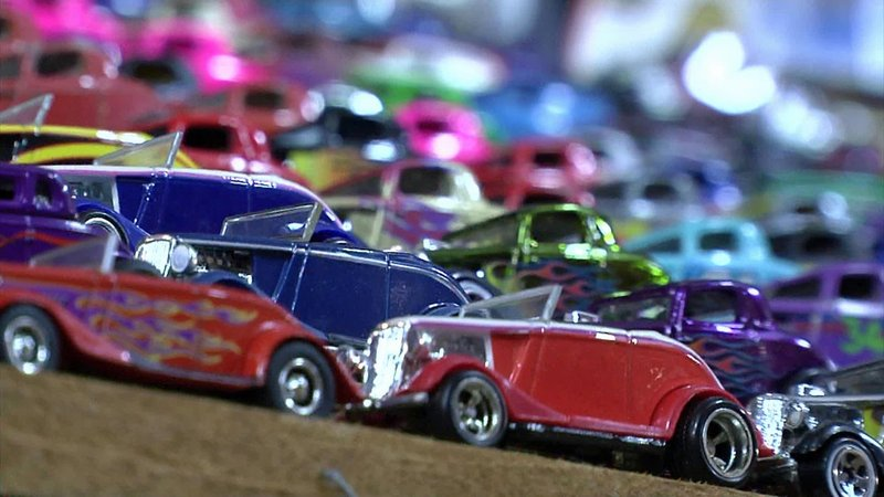 Carl Brown has collected more than 25,000 die-cast vehicles. (KTEN)