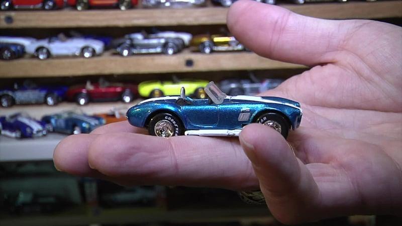 Carl Brown's favorite car is this Shelby Cobra Mustang. (KTEN)