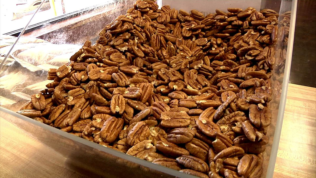 Demand is stripping the supply of Texoma pecans. (KTEN)
