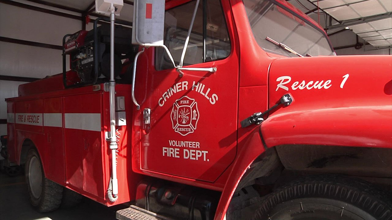 The Criner Hills Volunteer Fire Department needs more people. (KTEN)