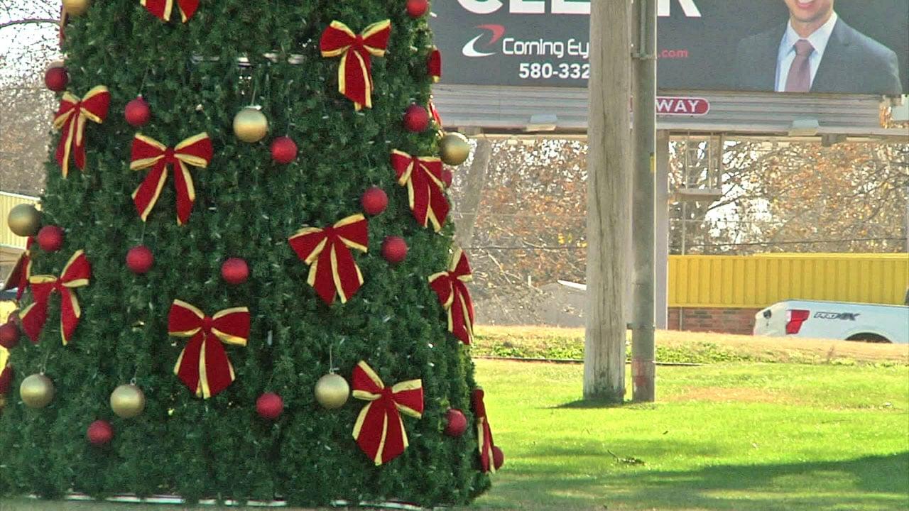 The Spirit of Christmas is alive in Ada. (KTEN)