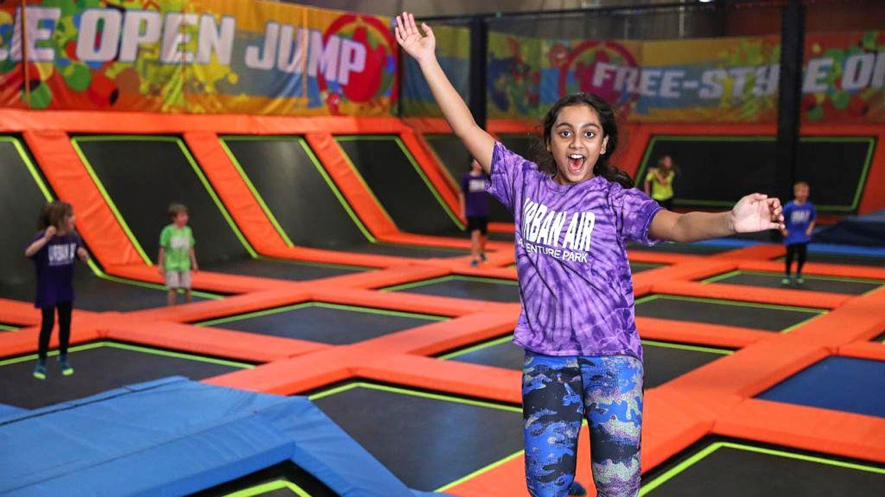 The new Urban Air Adventure Park in Denison will feature trampolines and other kid-oriented attractions. (Urban Air/Twitter)