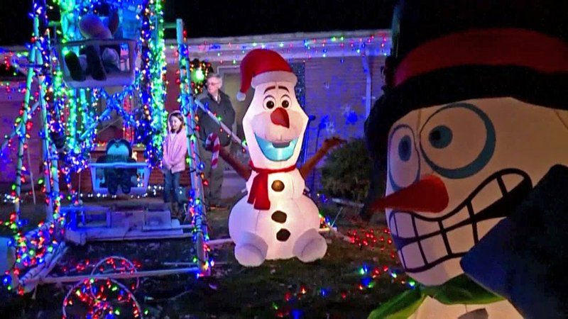 Firefighters urge homeowners to use care when creating Christmas light displays. (KTEN)
