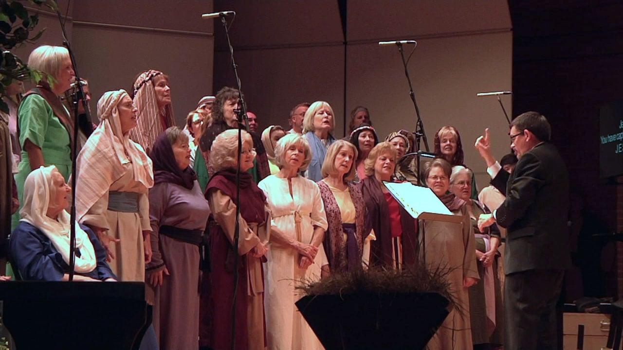 "A scene from the performance of ""Jesus Our Treasure"" in Sherman. (KTEN)"