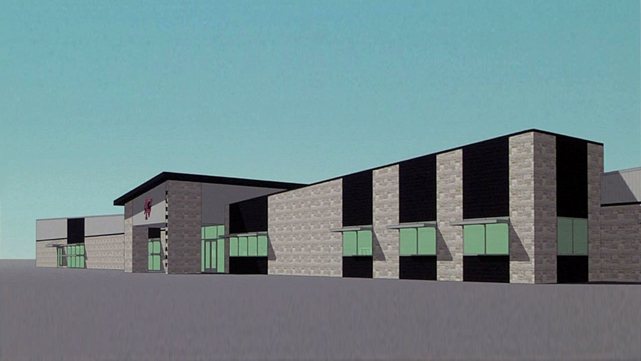 An artist's rendering of a new elementary school planned in Pauls Valley. (Courtesy)