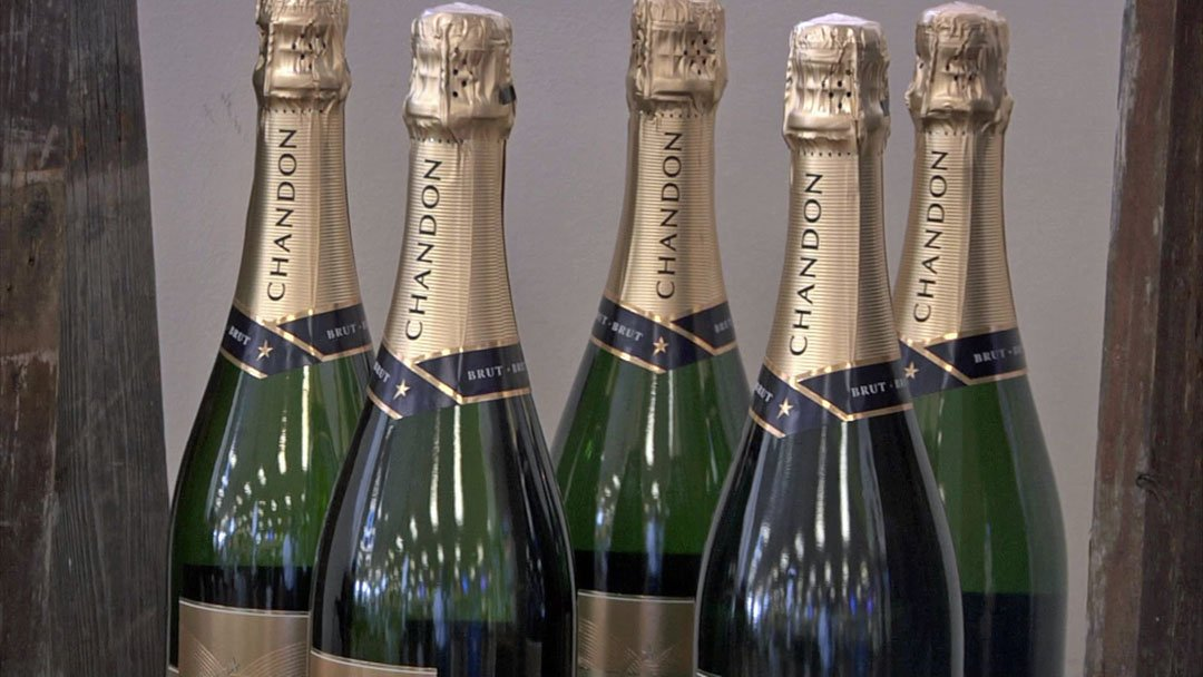 Champagne remains a traditional way to welcome the new year. (KTEN)