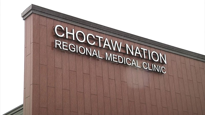 The Choctaw Nation Regional Health Clinic. (KTEN)