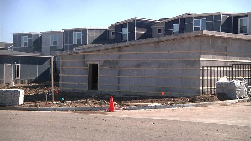 An Ardmore firm is adding safe rooms to properties now under construction. (KTEN)