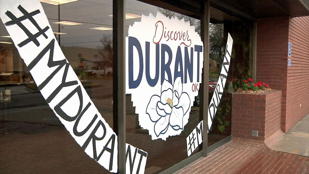 Durant rolled out the welcome mat for the Small Business Revolution TV series. (KTEN)