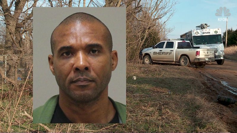 Murder suspect Cedric Marks was captured after escaping from a prison transport van. (KFOR)