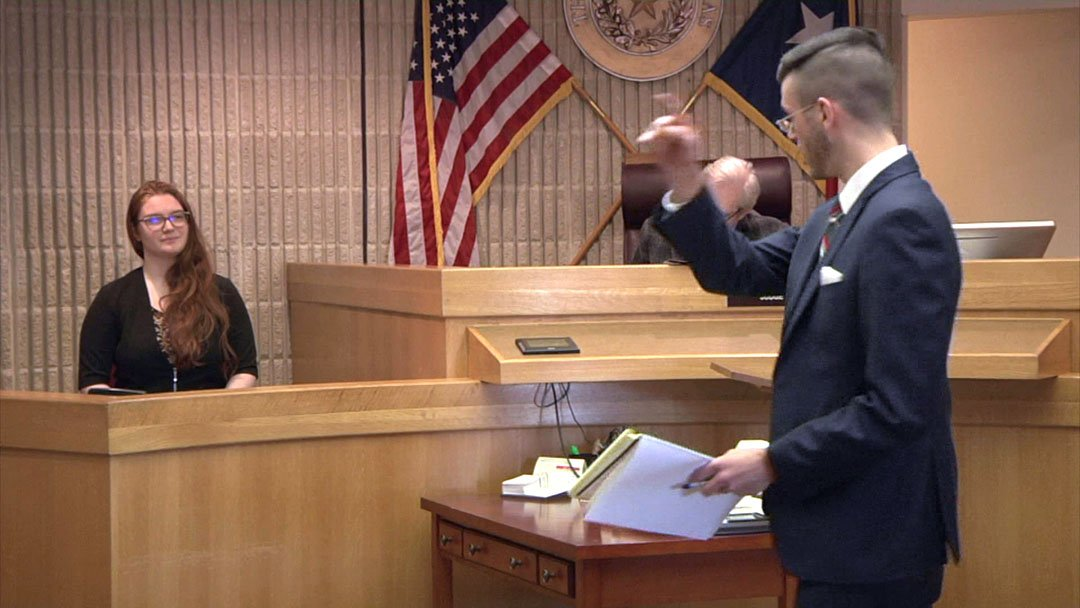 Austin College came in third place at a mock trial competition in Sherman on January 26-27, 2019. (KTEN)