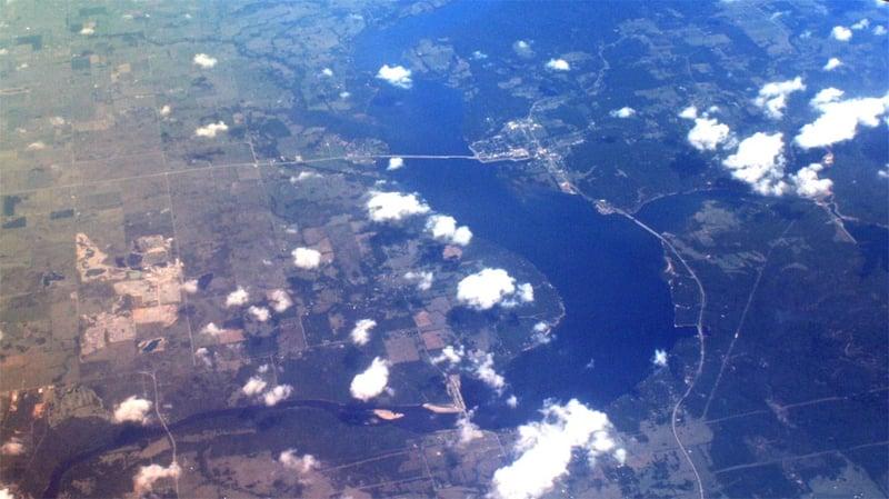 Lake Hudson, Oklahoma.  (Nick Ares/CC BY-SA 2.0 via Wikimedia Commons)