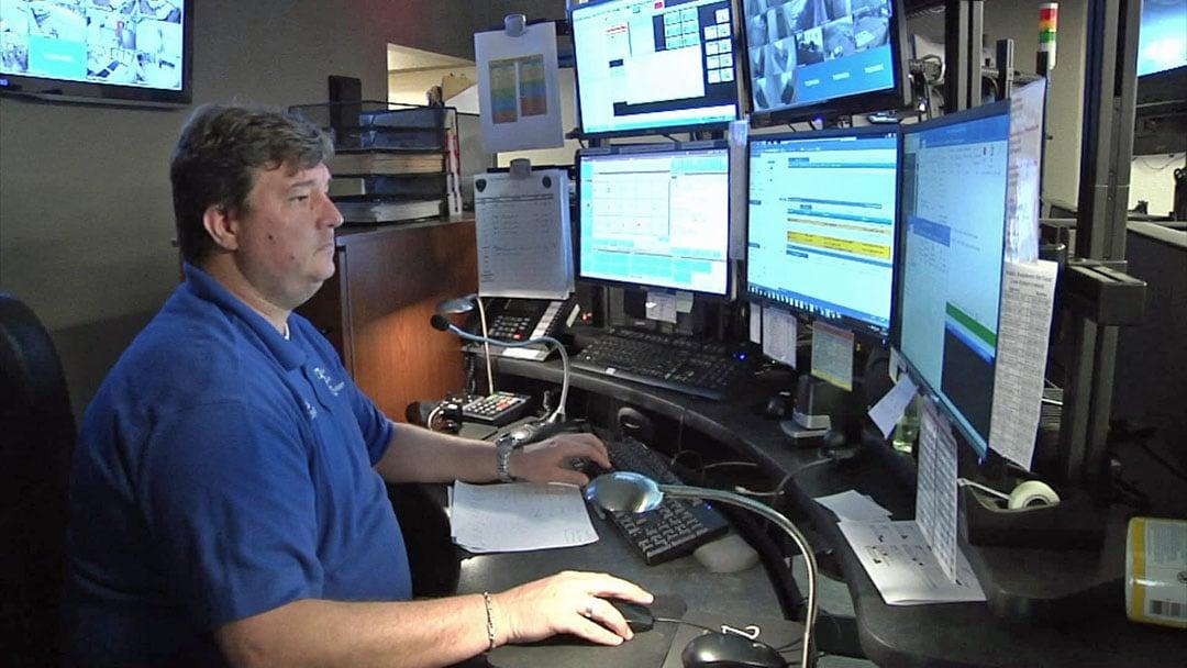Chad Allen is Denison's communications supervisor. (KTEN)