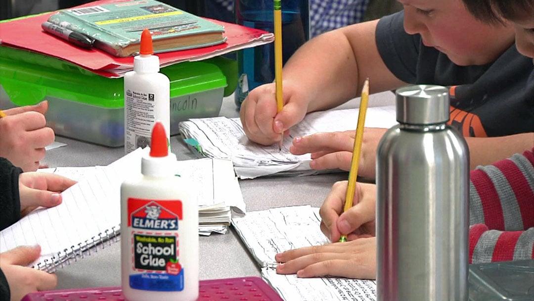 Hyde Park Elementary School in Denison is facing capacity issues. (KTEN)