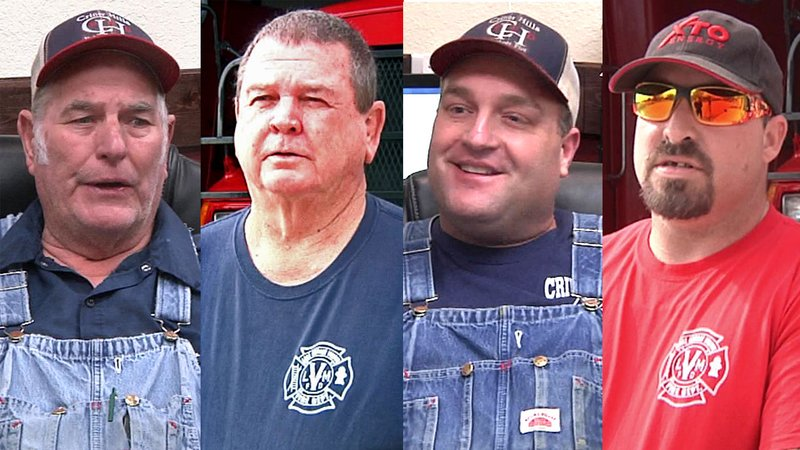 Volunteer firefighters share their concerns and frustrations. (KTEN)