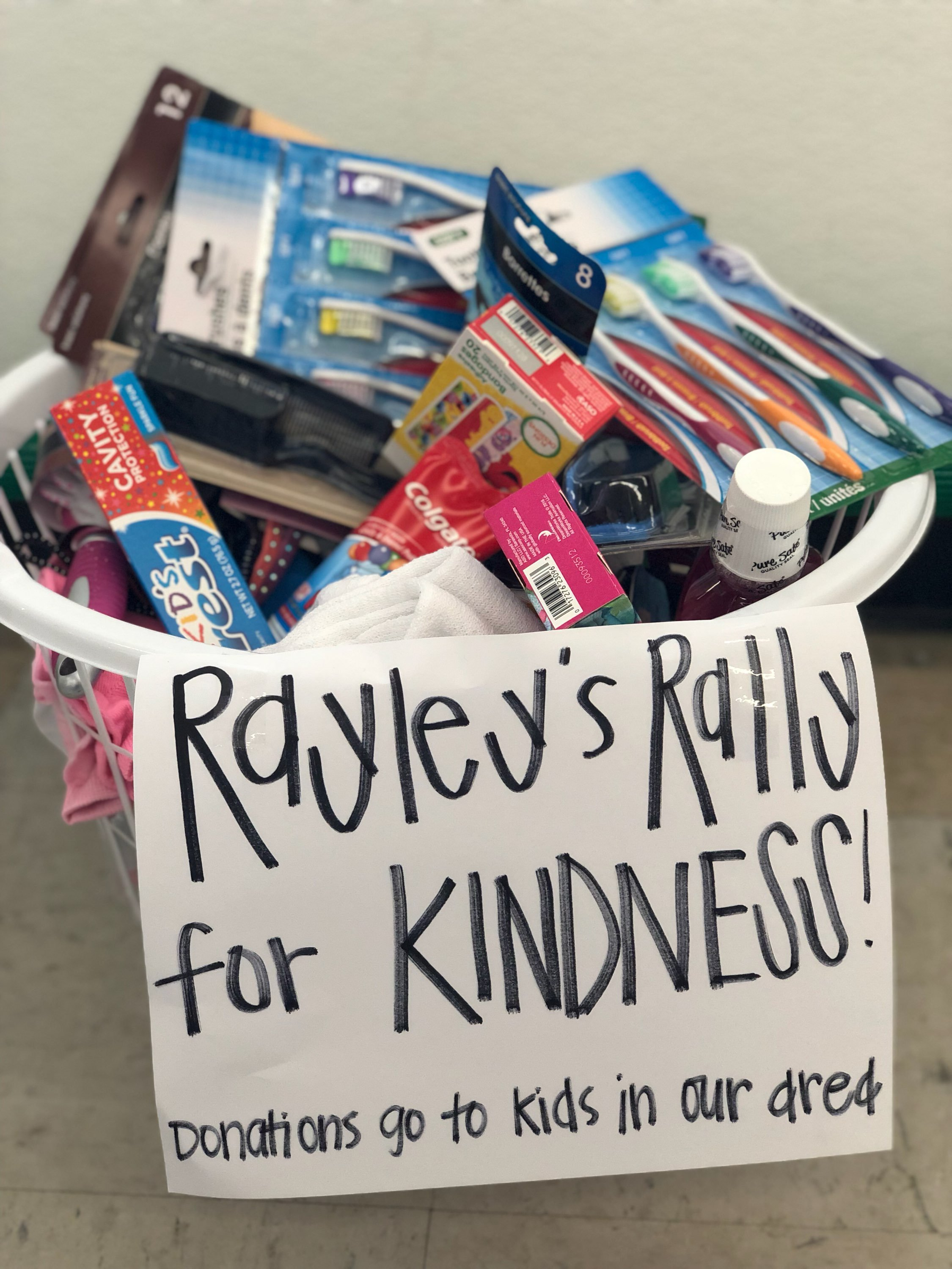10 Year old Rayley Mitchell starts a program to give back to students in the community (Photo courtesy of the Mitchell Family)
