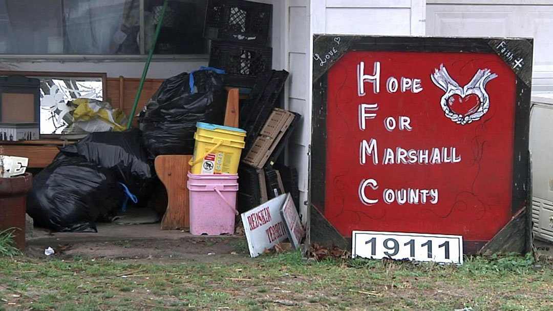 Hope for Marshall County is collecting personal hygiene items for seniors. (KTEN)
