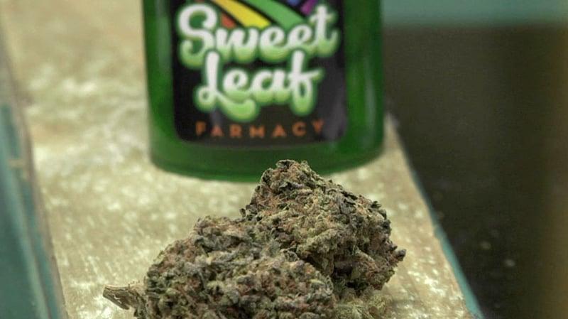 Medical marijuana at a Durant dispensary. (KTEN)
