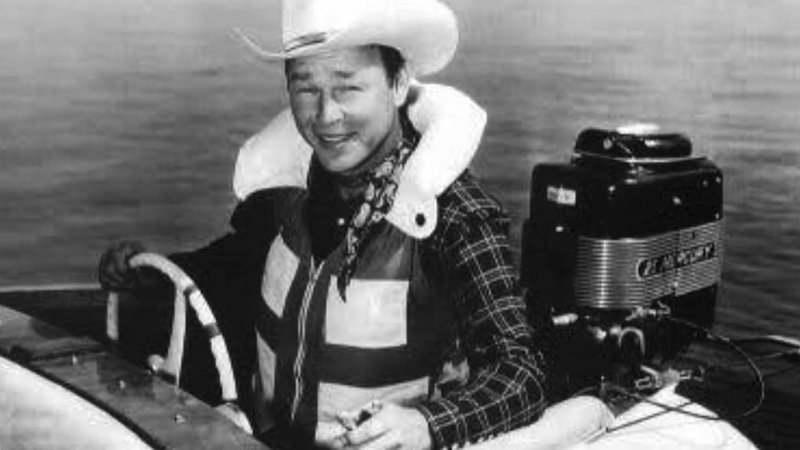 Roy Rogers was a spokesman for the Yellow Jacket Boat Company. (File)