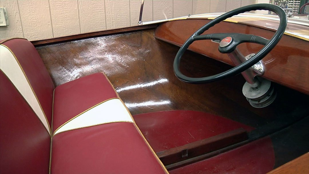 Yellow Jacket boats were built in Denison for 10 years, starting in 1949. (KTEN)