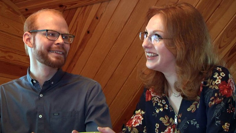 Kaleb George and Helen Lawrence have marriage plans. (KTEN)
