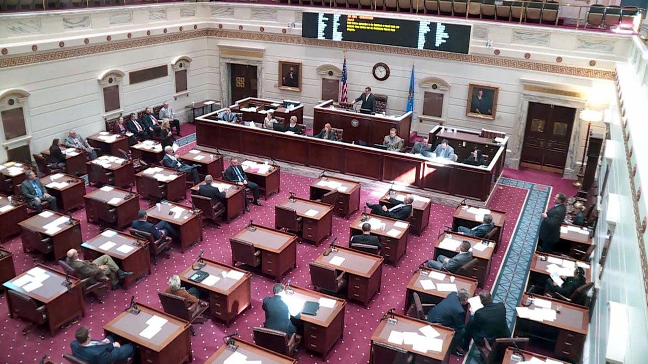 The Oklahoma Senate chamber. (KFOR)