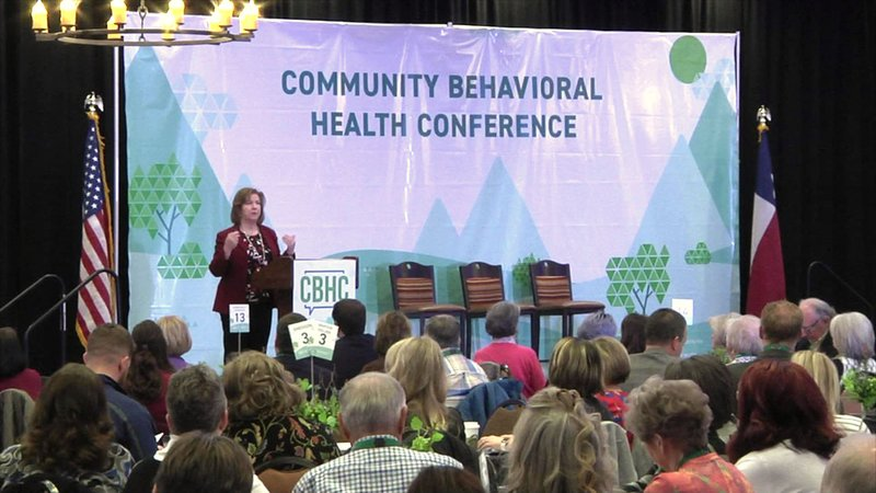 More than 500 people attended the 2019 Community Behavioral Health Conference in Denison. (KTEN)