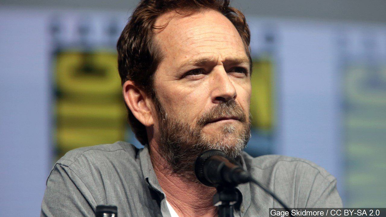 An undated photo of actor Luke Perry, who died on March 4, 2019.