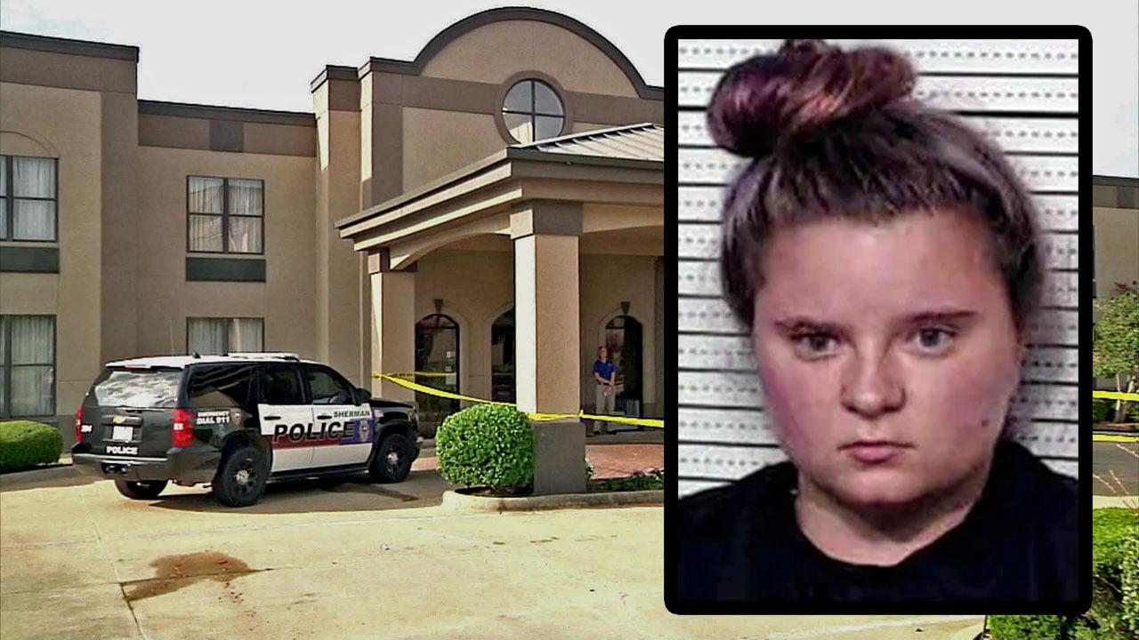 Karalyn Cross pleaded guilty to murder in the 2017 death of Sherman hotel clerk Brandon Hubert. (KTEN)