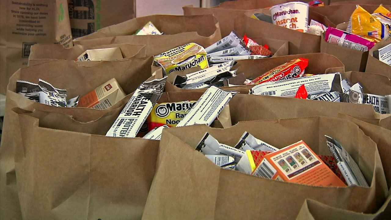 The Family Christian Center in Madill plans to donate 150 bags of groceries. (KTEN)